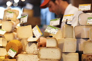 Cheeses at Cowgirl Creamery